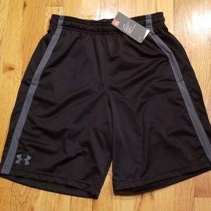 NWT Under Armour Tech Mesh Shorts Black Medium
